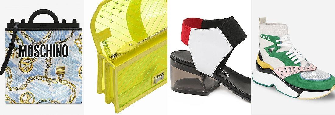 Die beliebtesten Schuhe und Taschen diesen Sommer.